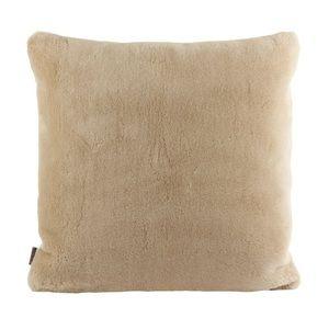 "Ugg Wool Shearling Sheepskin Pillow Sand Beige 20"""